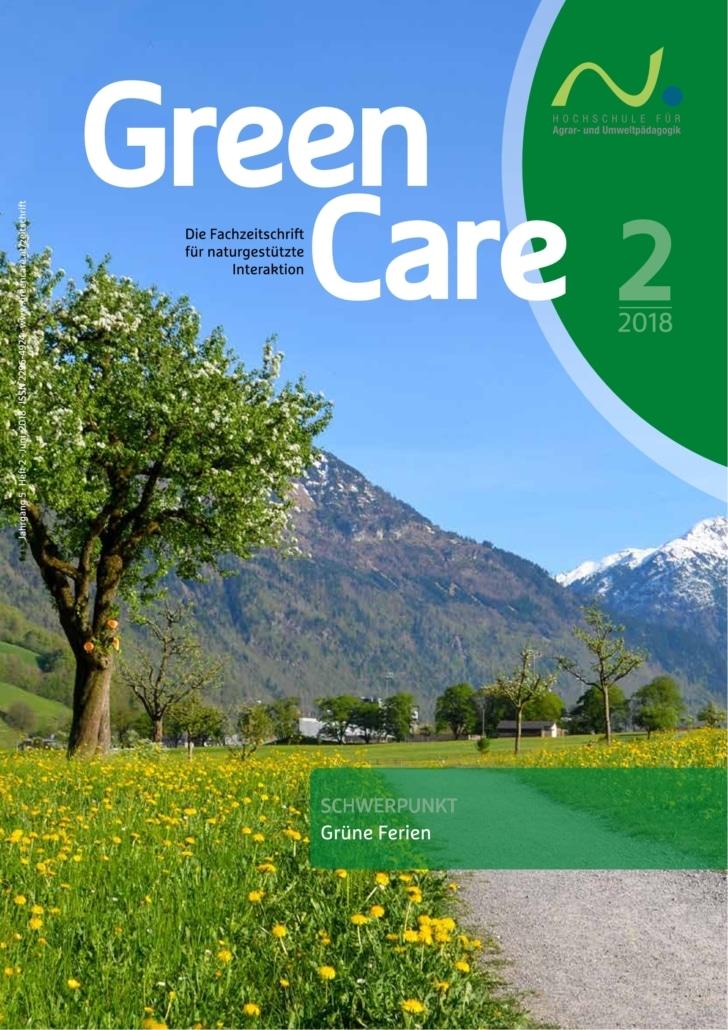Grüne Ferien – Ausgabe 2/2018 Cover