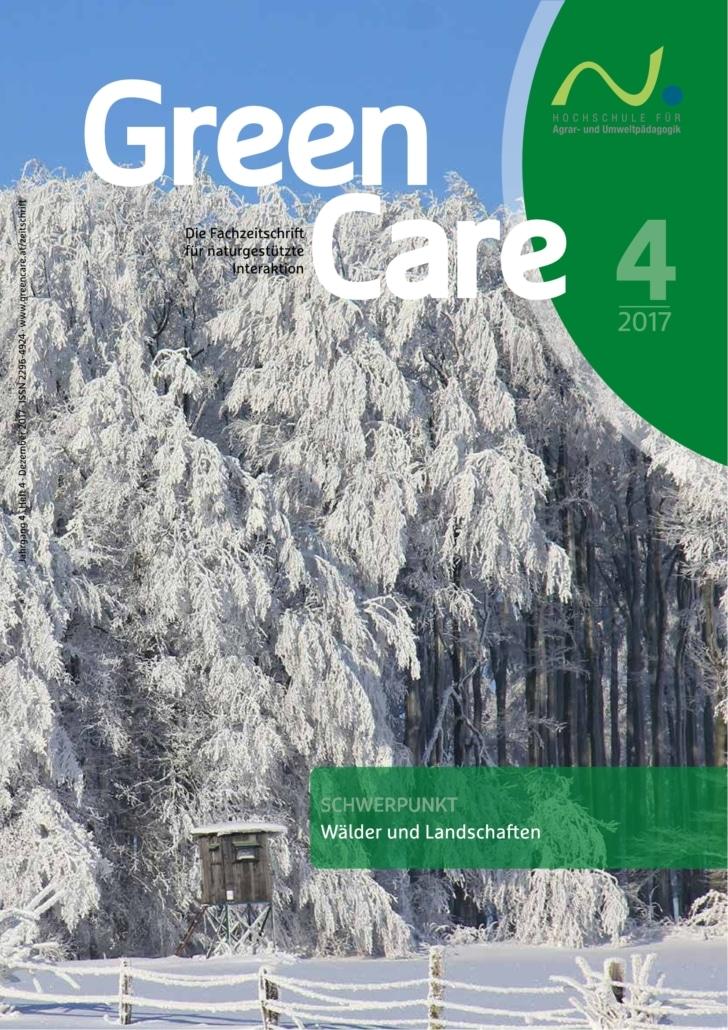 Wälder und Landschaften – Ausgabe 4/2017 Cover