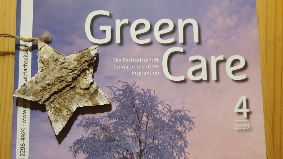 Die neue Ausgabe der Zeitschrift GREEN CARE ist da!